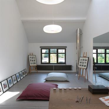 Galerie d'artiste ou coin détente