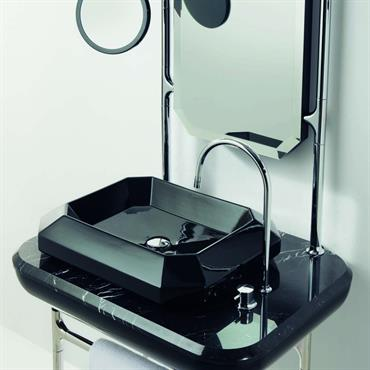 Console et lavabo noir collection Jaime Hayon