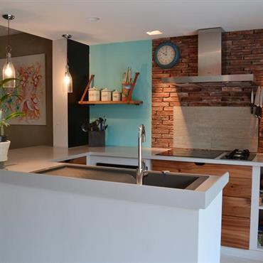 Maison ancienne rénovée : déco récup\' et mélange de styles ...