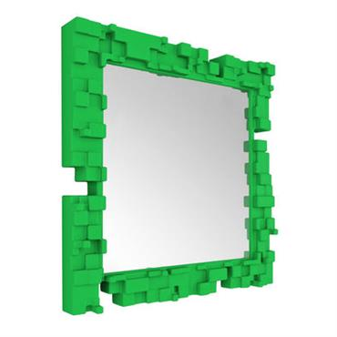 Miroir mural Pixel / 80 x 80 cm - Slide
