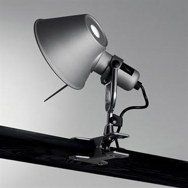 Lampe à pincer Tolomeo Pinza LED - Artemide Métal brillant en Métal