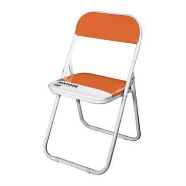 Chaise enfant Pantone - Seletti Orange 165 en Matière plastique