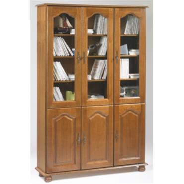 Bibliothèque Cluzel 6 portes