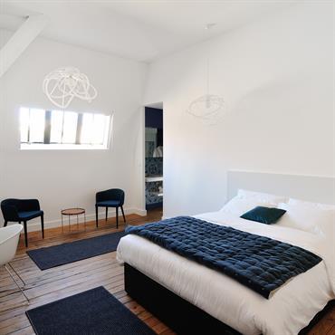 Chambre du nouvel hôtel particulier à Béziers