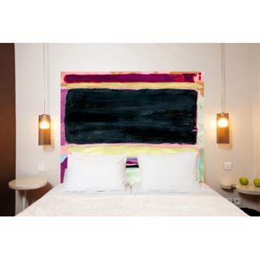 Composition : belle toile épaisse, 100 % polyester mat, effet coton natté, 300 g / m². Résistante au lavage. Dimensions : longueur 160 cm, hauteur 140 cm. Elle convient pour ...