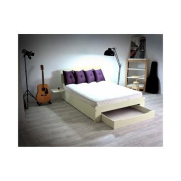 lits et t tes de lit domozoom. Black Bedroom Furniture Sets. Home Design Ideas