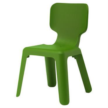 Chaise enfant Alma - Magis Collection Me Too vert en matière plastique