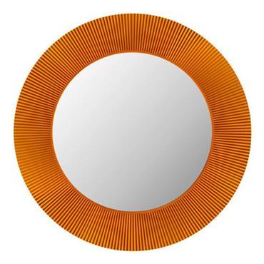 Miroir lumineux All Saints LED / Ø 78 cm - Kartell ambre