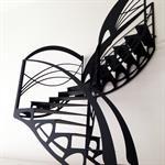 Escalier design dentelle