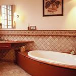 Salle de bain mosaiques de marbres