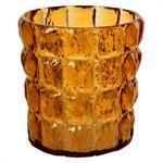 Vase Matelasse / Seau à glace / Corbeille - Kartell orange transparent