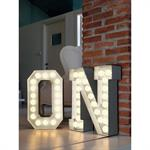 Lampe de sol Vegaz /Lettre O - LED - H 60 cm