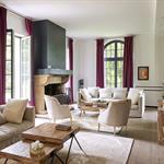 Salon entièrement refait et repensé pour créer deux espaces distinct