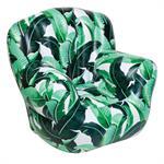 Chaise gonflable Banana Palm - Sunnylife vert en matière plastique