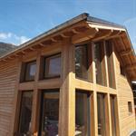 Maison en bois à Chamonix