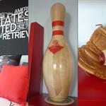 Chambre d'ado style américain - Détails de décoration