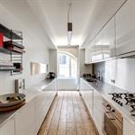 Aménagement d'une cuisine en longueur pour une praticité maximale