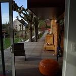 La terrasse depuis le séjour