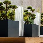 Grande Jardinière sur mesure en fibre ciment laqué IMAGE'IN