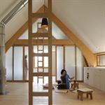 Maison moderne à l'esprit japonais