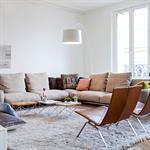 Séjour d'un Séjour d'un appartement Haussmannien à Paris