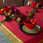 Lot de 6 serviettes de table Isaphire GARNIER THIEBAUT