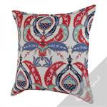 Coussin décoré de motifs orientaux ottomans