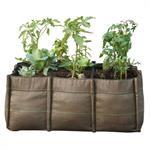 Jardinière BacLong Geotextile / Outdoor - 105L - Bacsac marron en tissu