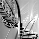 Escalier design Papillon