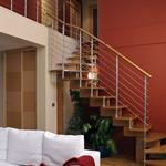 Vue sur escalier