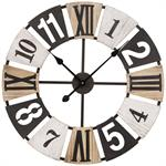 Horloge tricolore D60