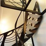 Escalier design métal Mozart