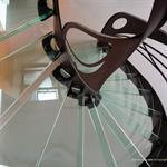 """Escalier design en verre """"Mozart"""""""