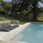 Création d'une zone de baignade contemporaine dans un jardin ancien