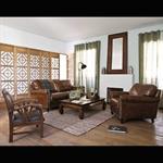 Miroir en bois de sheesham H 110 cm AVIGNON
