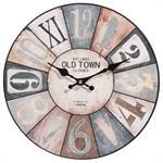 Horloge multicolore D34