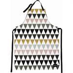 Tablier Triangle - Ferm Living multicolore en tissu