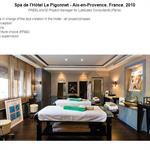 Le Spa de l'hôtel Le Pigonnet à Aix-en-Provence