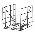 Porte-revues Square / 31 x 25 cm - Ferm Living noir en métal