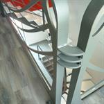 Escalier 2/4 tournant Art Nouveau