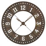 Horloge en métal ajouré effet vieilli D144