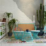 Espace détente entre salon d'hiver et style loft