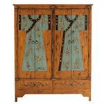 Armoire imprimée en bois L 150 cm Kimono