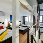 Chambre style dortoir