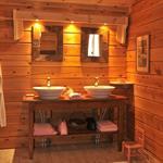 Salle de bain sous les toits
