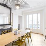 Salle à manger appartement Haussmannien