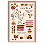 Torchon J´aime le Chocolat TORCHONS & BOUCHONS