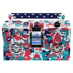 Enceinte nomade Berlin Boombox Artist Edition by Rob Flowers / Pour Smartphone