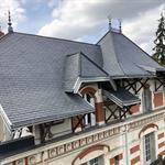 Rénovation d'une toiture d'une maison bourgeoise de chatel Guyon
