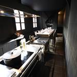 Salle de restaurant et sa cuisine privative - 1er étage
